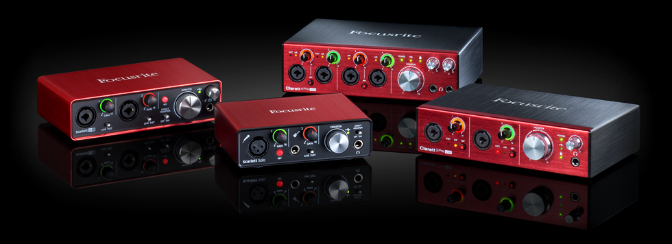 Focusrite USB Audio Interfaces