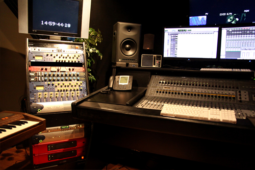 RedNet 5 in the Studio