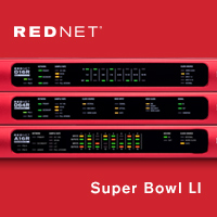 Super Bowl LI Marks a Shift to Focusrite RedNet Audio Networking for the On-Field Live Entertainment
