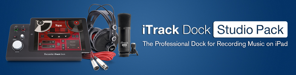 Get Started with iTrack Dock Studio Pack
