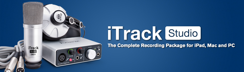 iTrack Studio Getting Started