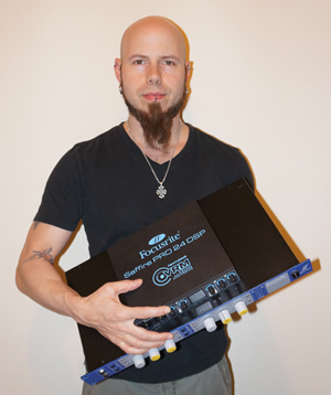 cj pierce drowning pool focusrite