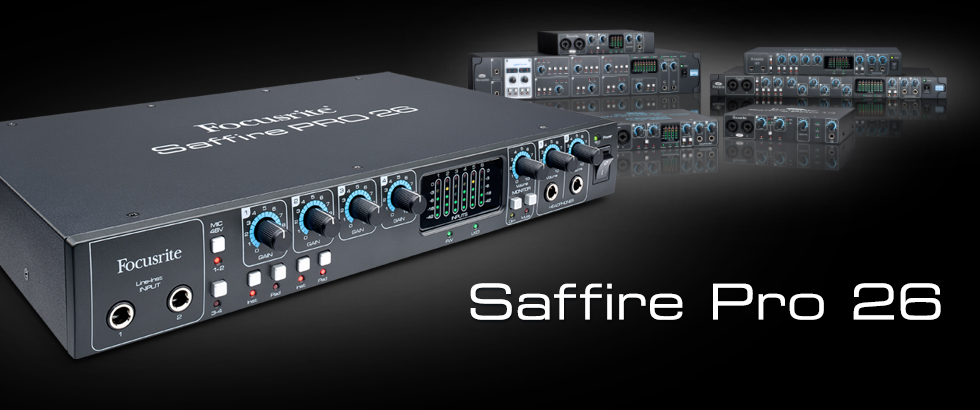 Focusrite Saffire Interfaces