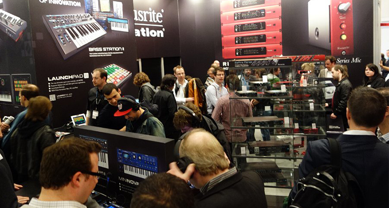 Focusrite at Musik Messe