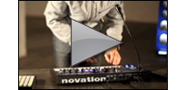 Novation MiniNova synth performance