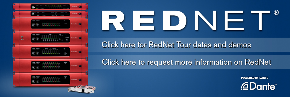Tour Dates and Info Request for RedNet