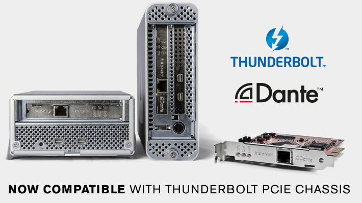 RedNet_PCIe and Thunderbolt